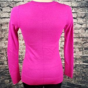 Lilly Pulitzer Sweaters - Lily Pulitzer Hot Pink Crew Neck Sweater XS